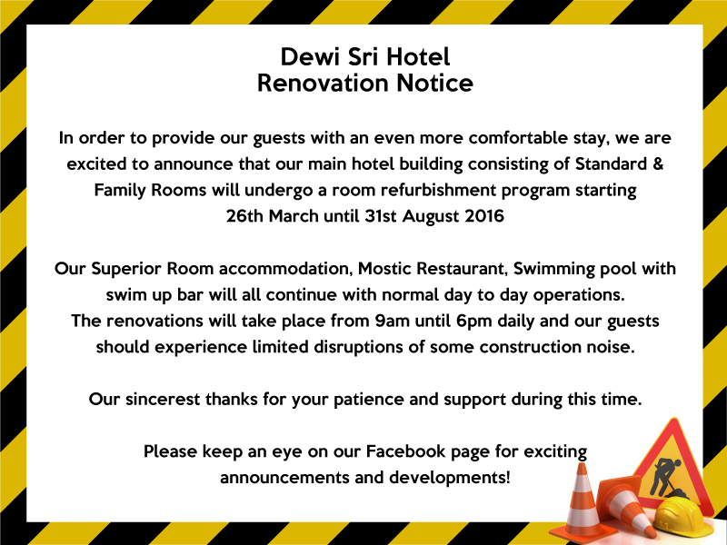Renovation-Notice
